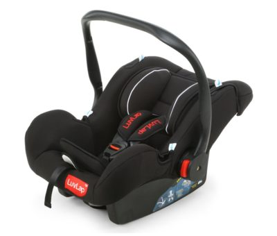 Luvlap Infant Baby Car Seat Cum Carry Cot and Rocker with Canopy