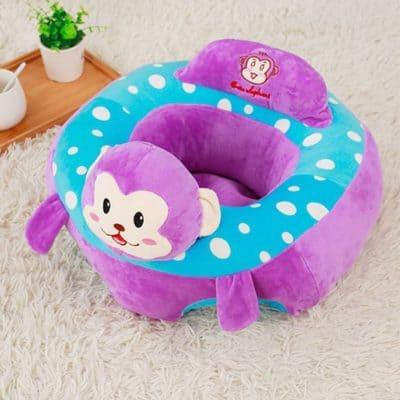 Magideal Colorful Baby Cushion Sofa Plush Pillow