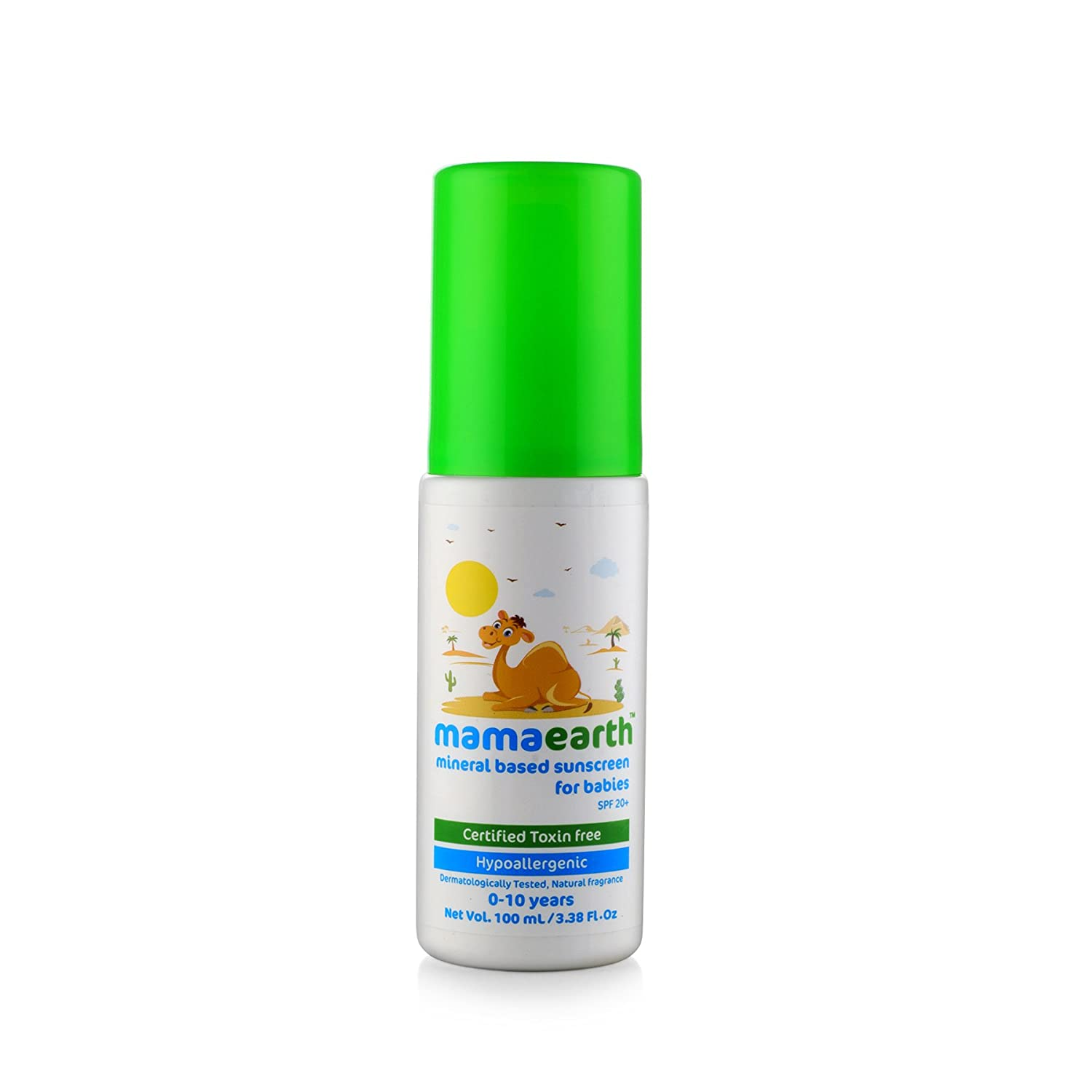 Mamaearth Mineral Based Sunscreen Baby Lotion