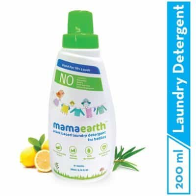 Mamaearth's Plant-Based Baby Laundry Detergent