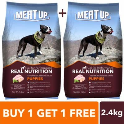 Meat Up Puppy Dog Food