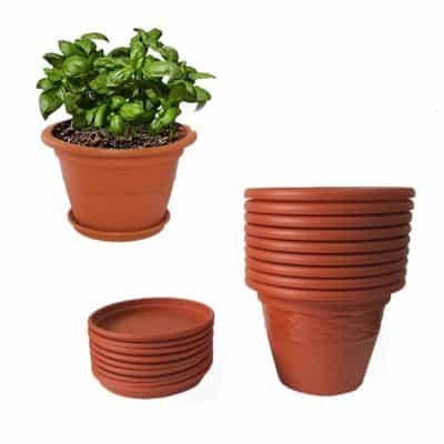 Meded Siti Heavy Duty Plastic Planter Pots