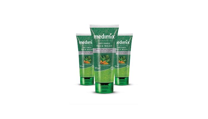Medimix Ayurvedic Anti Pimple Face Wash Review