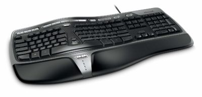 Microsoft Natural Ergo Wired Keyboard Ergonomic Keyboard