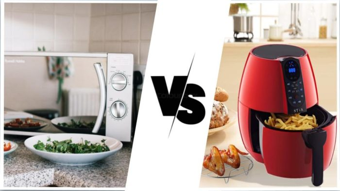 Microwave Oven Vs Air Fryer 2