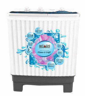 Mitashi Semi-Automatic Top Loading Washing Machine