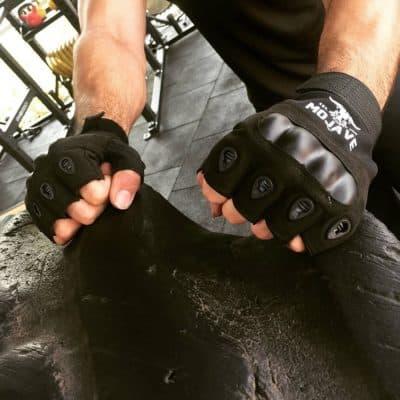 Mojave Half-Finger Tactical Gym Gloves/Bike Gloves