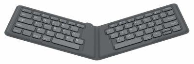 Moko Ultra-Compact Folding Wireless Bluetooth Keyboard Ergonomic Keyboard