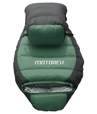 Motorev Special Forces Edition Sleeping Bag  (Green, Black)