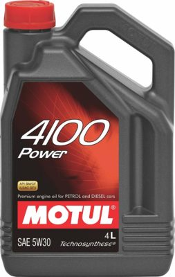 Motul 4100 Synthetic Motor Oil