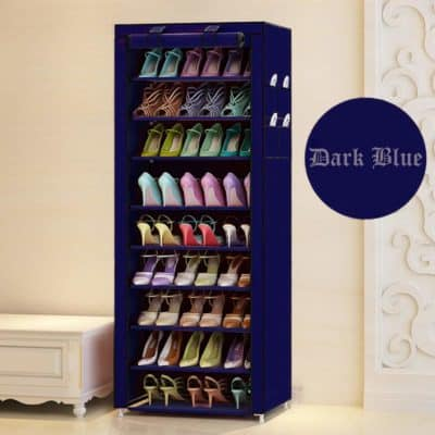 Multipurpose Portable Folding Shoes Rack