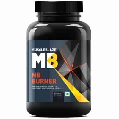 MuscleBlaze MB Burner Unflavored Capsules
