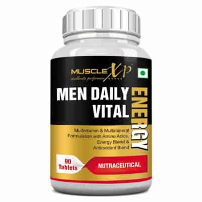 MuscleXP Men Daily Vital Energy