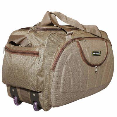 N Choice 60 L Luggage Brown Travel Duffel Bag
