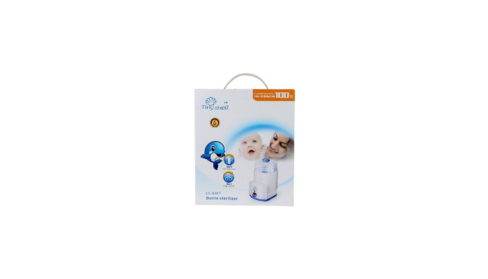 NampM Electric Steam White Baby Bottle Sterlizer Review