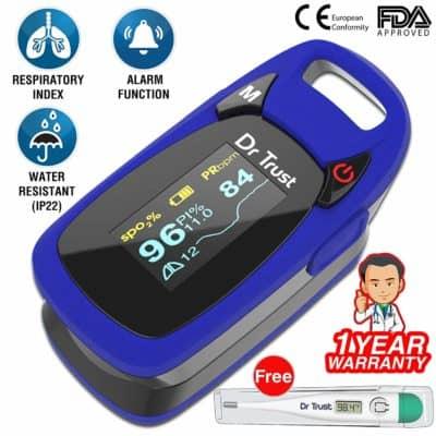Neclife Dr. Trust Finger Pulse Oximeter DR-50D