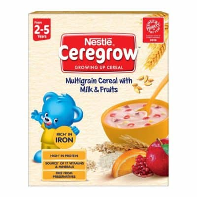 Nestle Ceregrow Fortified Multigrain Cereal