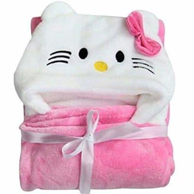 My Newborn Soft Hooded Baby Bath Towel