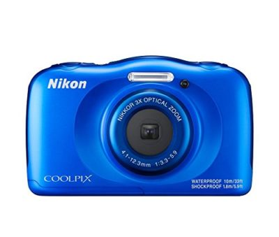 Nikon Coolpix W100 Point and Shoot Digital Camera