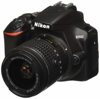 Nikon D3500 W/AF-P DX Nikkor 16GB Camera