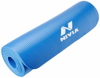 Nivia Yoga Mat 10 mm, Blue