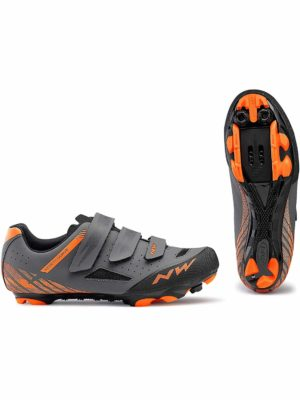 Northwave Origin cycling Shoes Anthra/Orange, Cross Country