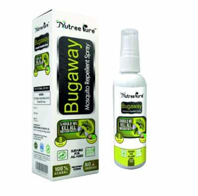 Nutree Pure Mosquito Repellent- Happy Skin Softener