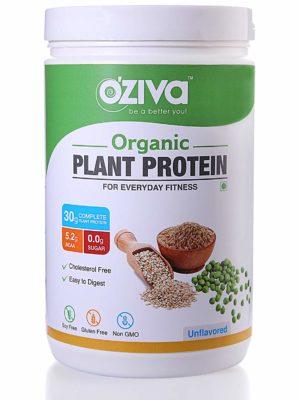 OZiva Organic Plant Unflavored Protein