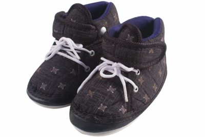 Ole Baby Touch Fastener with Lace Whistle Musical Outdoor First Walking Shoes Sole Size- 11.7 cm 0-6 Months