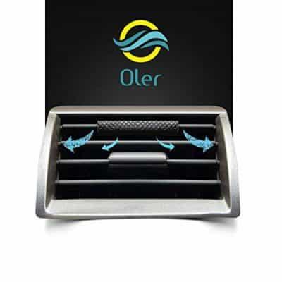 Oler Car Perfume - Aqua (Pack of 3)