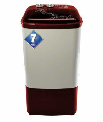 Onida 6.5 kg Washer Only (WS65WLPT1LR Lilliput, Lava Red)