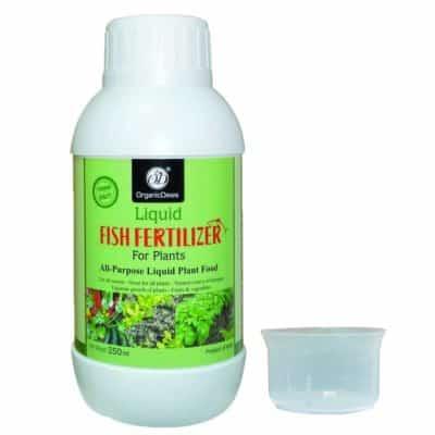 Organic Dews Liquid Fish Fertilizer for Plants