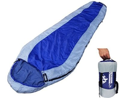 OutdoorsmanLab Ultralight 32F Sleeping Bag For Backpacking Hiking Travel