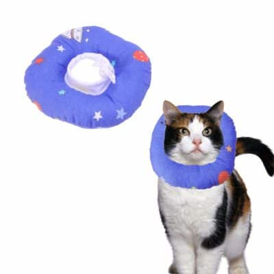 POPETPOP Breathable Pet Recovery Collar