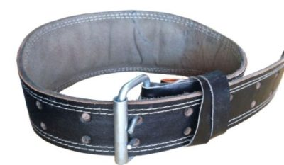PS Pilot- Leather Weight Lifting Belt