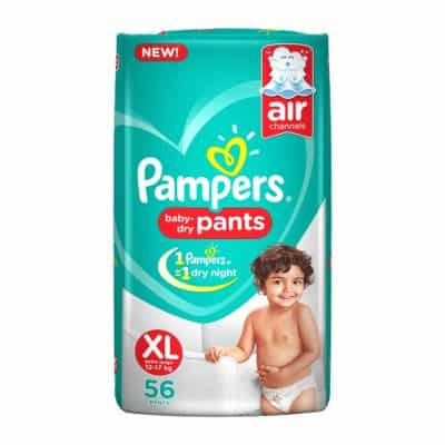 Pampers New X-Large Size Diapers Pants