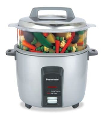 Panasonic S Automatic Electric Cooker Non Stick Cooking Pan and Steamer