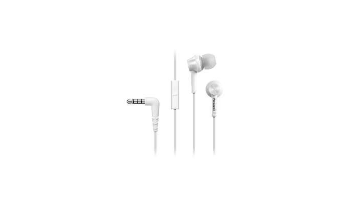 Panasonic Schwarz RP TCM105E W in Ear Headphone Review
