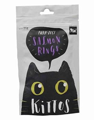 PetSutra Salmon Rings Treats for Kitten and Cat