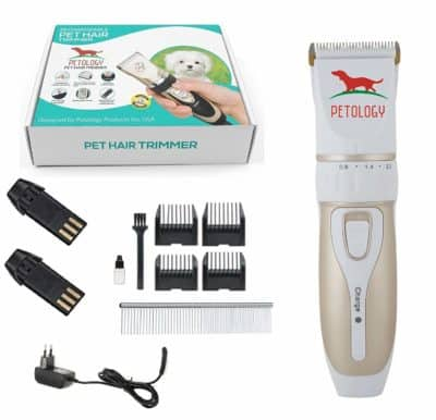 Petology Automatic Rechargeable Pet Hair Trimmer