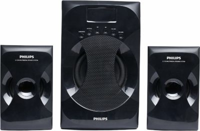 Philips MMS-4040F/94 2.1 Channel Multimedia Speaker System