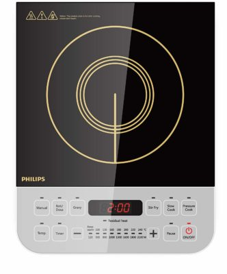 Philips Viva Collection HD4928-01 2100-Watt Induction Cooktop
