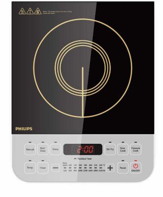 Philips Viva Collection HD4928-01 2100-Watt Induction Cooktop
