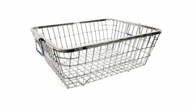 Planet Premium High-Grade Stainless Steel Dish Drainer (Size:48 x 37 x 20 cm) Lifetime Warranty
