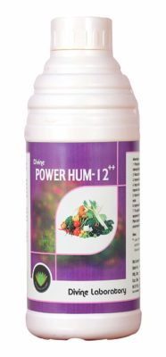 Powerhum 12 Organic Humic Acid Liquid Bio-Fertilizer