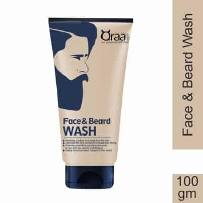 Qraa Face and Beard Wash with Tea Tree Oil