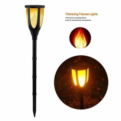 Quace Solar Garden Light Scene Torch Mashaal Light