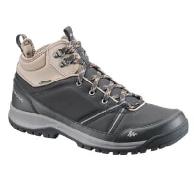 Quechua NH300 Mid Waterproof Men's Nature Hiking Boots