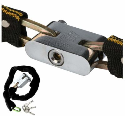 Rollyware Hard-Anodized Aluminium Helmet lock with Mul-T lock Technology. (high-performance