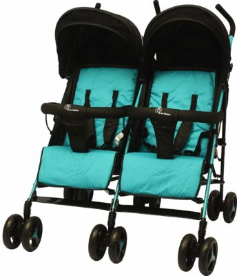 R for Rabbit Ginny and Johnny Twin Stroller